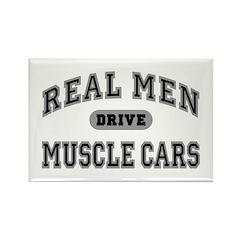 Real Men Drive Muscle Cars III Fridge Magnet