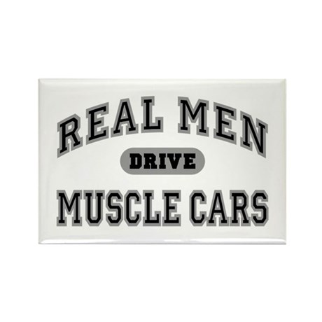 Real Men Drive Muscle Cars III Magnet (10 Pack)