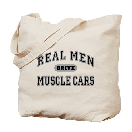 Real Men Drive Muscle Cars III Tote Bag