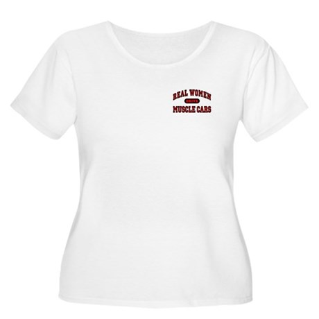Real Women Drive... Women's Plus Size Scoop Neck T