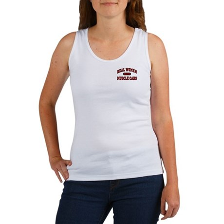 Real Women Drive Muscle Cars Women's Tank Top