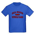 Real Women Drive... Kids Dark Colored T-Shirt