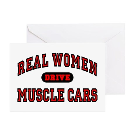 Real Women Drive... Greeting Cards (Pk of 20)