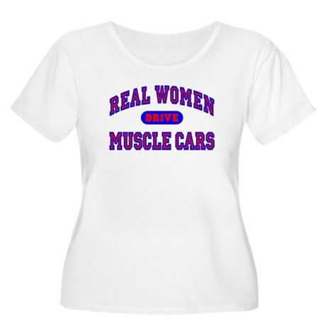 Real Women Drive Muscle Cars II Women's Plus Size