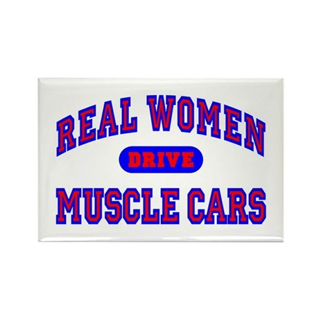 Real Women Drive...II Rectangle Magnet (100 pk.)