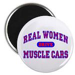 "Real Women Drive...II 2.25"" Magnet (10 pk.)"
