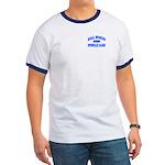 Real Women Drive Muscle Cars III Ringer Tee Shirt