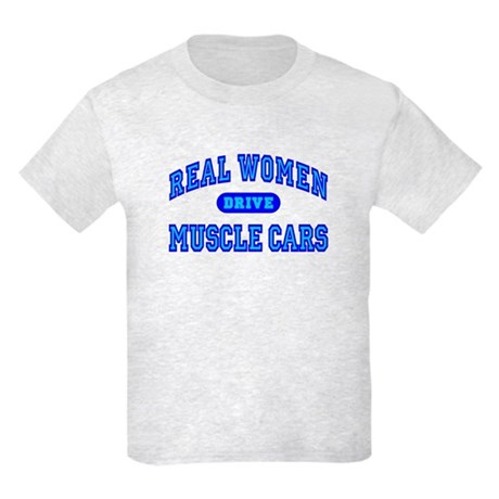 Real Women Drive...III Kids Light T-Shirt