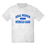Real Women Drive...III Kids Light T-Shirt