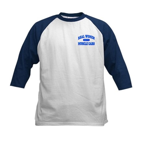 Real Women Drive...III Kids Baseball Jersey
