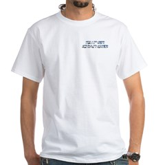 Super Charged Tee-Shirt White with Back Logo