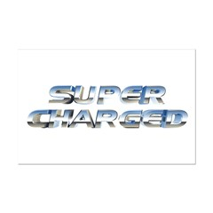 Super Charged Mini Poster Print