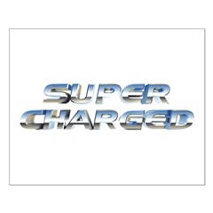 Super Charged Small Poster