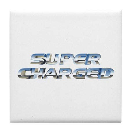 Super Charged Tile Coaster