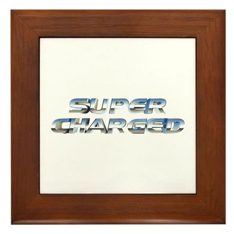 Super Charged Framed Tile