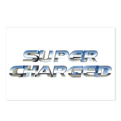 Super Charged Postcards (Package of 8)