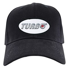 Black Turbo Cap