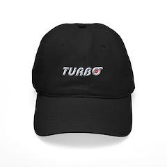 Black Turbo Cap