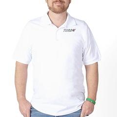 Turbo Golf Shirt with Back Logo