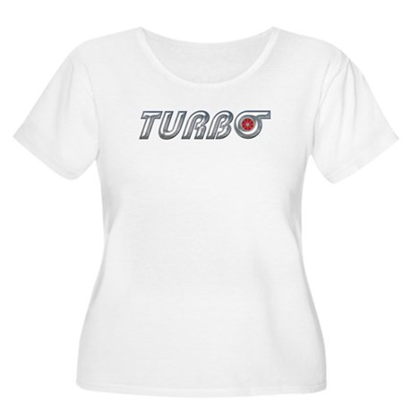 Turbo Women's Plus Size Scoop Neck T-Shirt