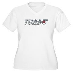 Turbo Women's Plus Size V-Neck T-Shirt