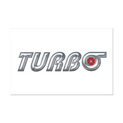 Turbo Mini Poster Print