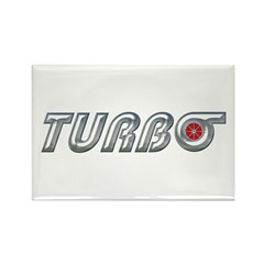 Turbo Rectangle Magnet (10 pack)