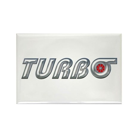 Turbo Rectangle Magnet (100 pack)