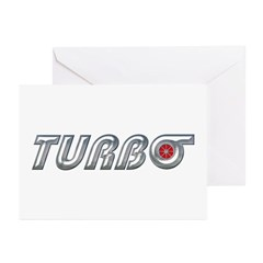Turbo Greeting Cards (Pk of 10)