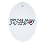 Turbo Oval Ornament