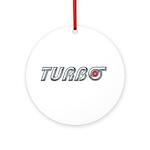 Turbo Ornament (Round)