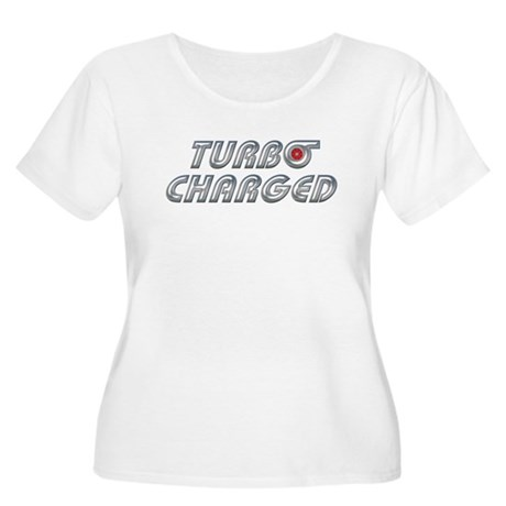 Turbo Charged Women's Plus Size Scoop Neck T-Shirt