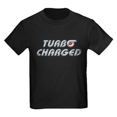 Turbo Charged Kids Dark T-Shirt