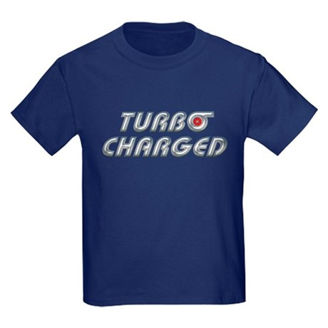 Turbo Charged Kids Dark Colored T-Shirt