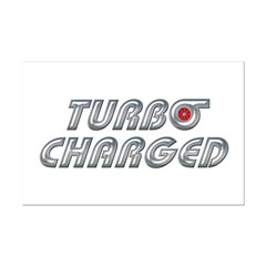 Turbo Charged Mini Poster Print