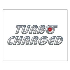 Turbo Charged Small Poster