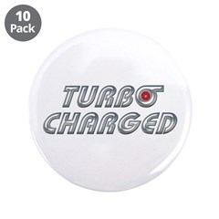 "Turbo Charged 3.5"" Button (10 pack)"