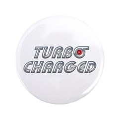 "Turbo Charged 3.5"" Button (100 pack)"