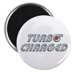 "Turbo Charged 2.25"" Magnet (100 pack)"
