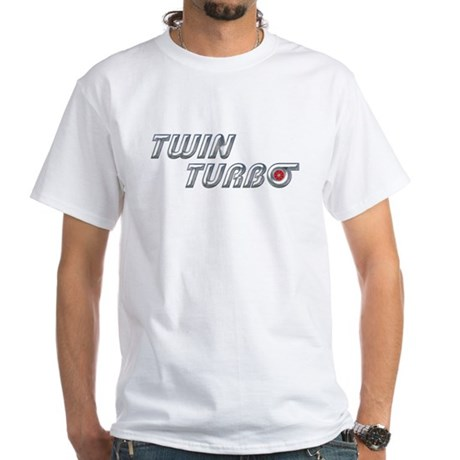 Twin Turbo T-Shirt White