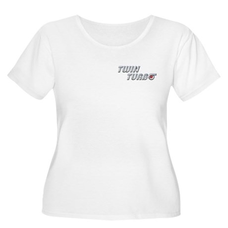 Twin Turbo Women's Plus Size Scoop Neck T-Shirt