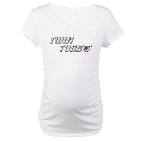 Twin Turbo Maternity T-Shirt