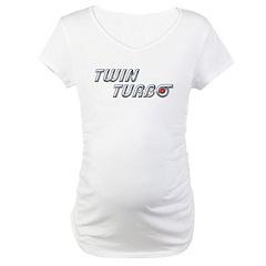 Twin Turbo Maternity T-Shirt
