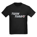 Twin Turbo Kids Black T-Shirt