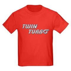 Twin Turbo Kids Dark Colored Tee-Shirt