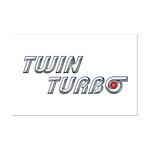 Twin Turbo Mini Poster Print