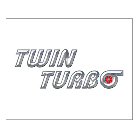 Twin Turbo Small Poster