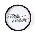 Twin Turbo Wall Clock