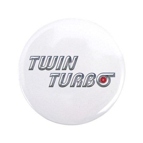 "Twin Turbo 3.5"" Button"
