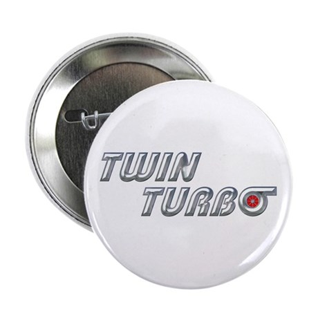 "Twin Turbo 2.25"" Button"